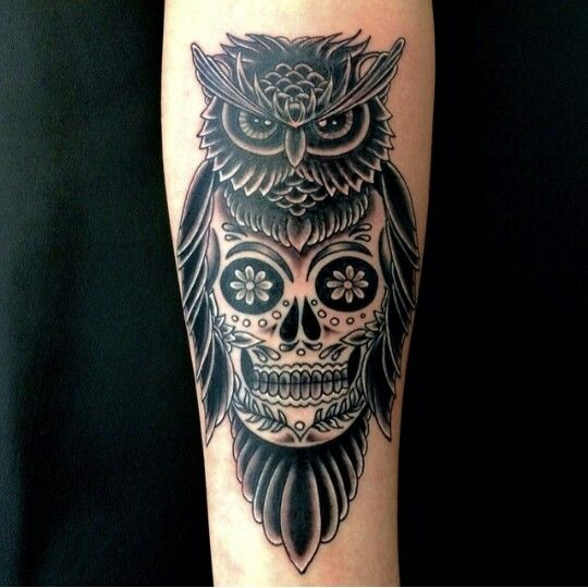 Owl Tattoos Designs Ideas And Meaning: Owl Skull Tattoos Designs, Ideas And Meaning