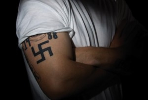Swastika Tattoo Arm