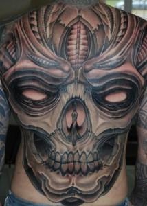 Tattoo Back Piece Designs
