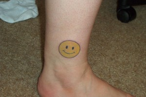Tattoo Smiley Face