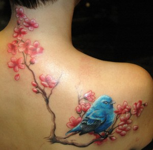 bluebird tattoos designs ideas and meaning tattoos for you. Black Bedroom Furniture Sets. Home Design Ideas