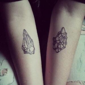 Tattoos of Crystals