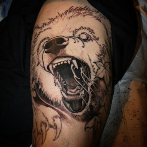 Tattoos of Grizzly Bears