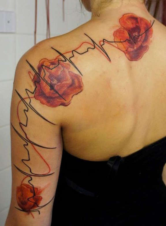 Poppy tattoos designs ideas and meaning tattoos for you tattoos of poppy flowers mightylinksfo