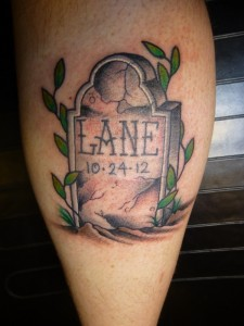 Tattoos of Tombstones