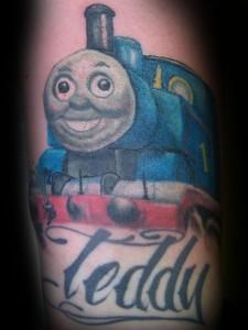 Thomas the Train Tattoos