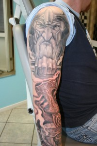 Thor Tattoo Sleeve