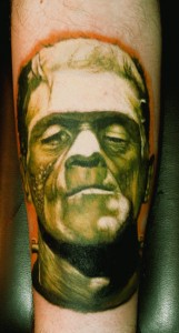 Traditional Frankenstein Tattoos