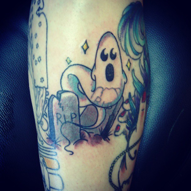 Ghost Tattoos Designs, Ideas and Meaning | Tattoos For You