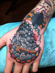 Traditional Ship Tattoo Pictures