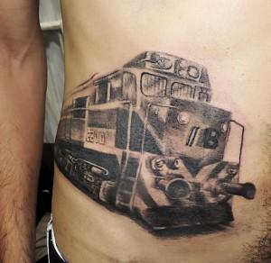 Train Tattoos