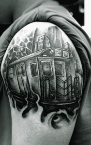 Train Tattoos Pictures