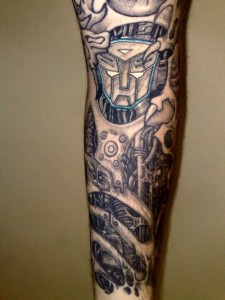 Transformer Tattoo Designs