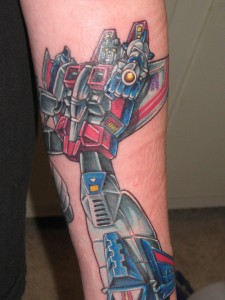 Transformer Tattoo Pictures