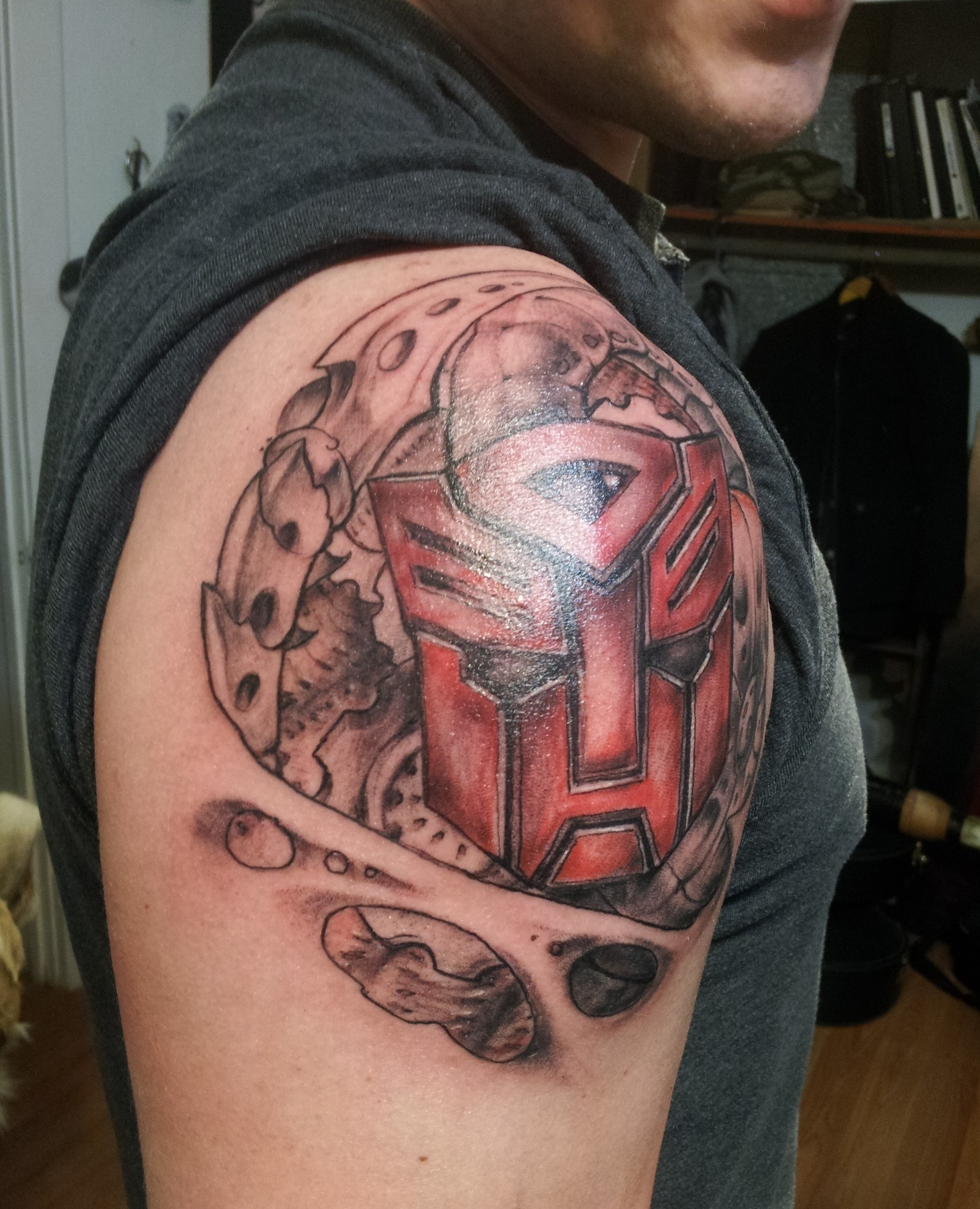 Tattoo Designs Tattoo Pictures: Transformers Tattoos Designs, Ideas And Meaning