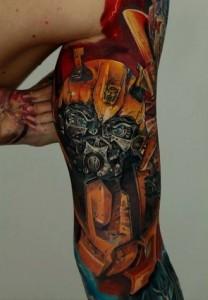 Transformers Tattoo Designs