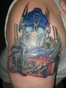 Transformers Tattoo Sleeve