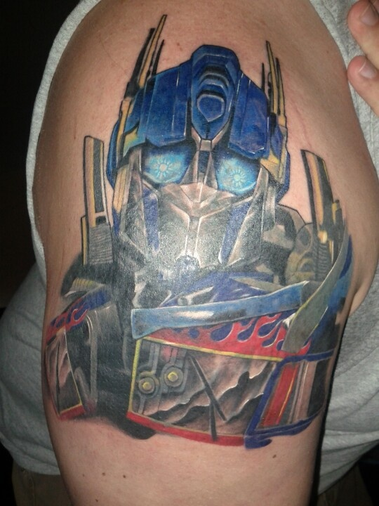 Transformers Tattoos Designs, Ideas and Meaning | Tattoos For You