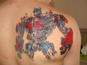 Transformers Tattoos Pictures
