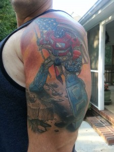 Transformers Tattoos for Men