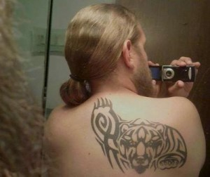 Tribal Grizzly Bear Tattoos