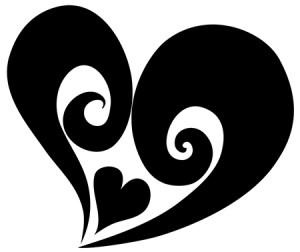 Tribal Heart Tattoos Designs