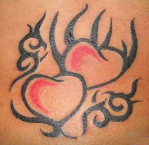 Tribal Heart Tattoos Images