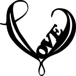 Tribal Love Heart Tattoos