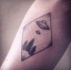 Eccentric Tattoos UFO Tattoos Designs, I...