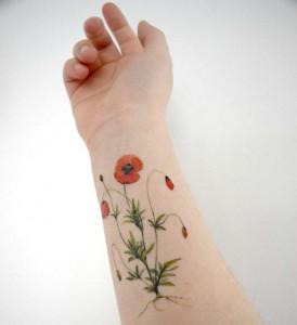 Wildflower Tattoo