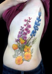 Wildflower Tattoo Designs
