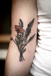 Wildflower Tattoo Images