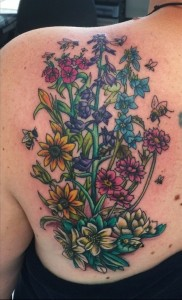 Wildflower Tattoo Pictures