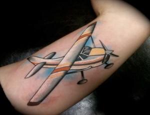 Airplane Tattoo Designs