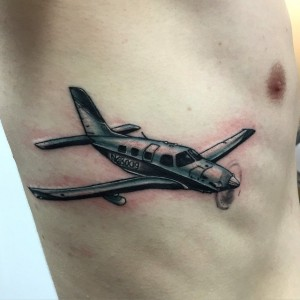 Airplane Tattoos Pictures