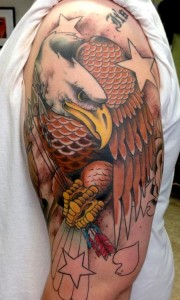 American Eagle Tattoo Sleeve