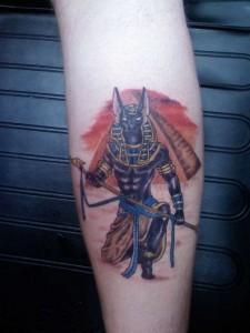 Anubis Tattoo Images