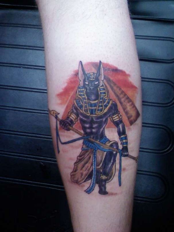 Anubis Tattoos Designs, Ideas and Meaning | Tattoos For You