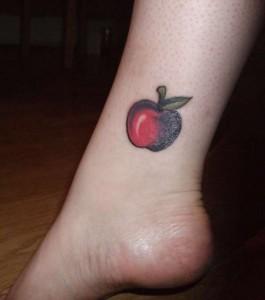 Apple Fruit Tattoo