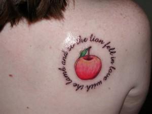 Apple Tattoos