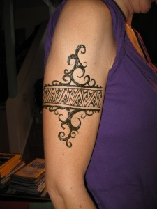 Arm Bracelet Tattoo