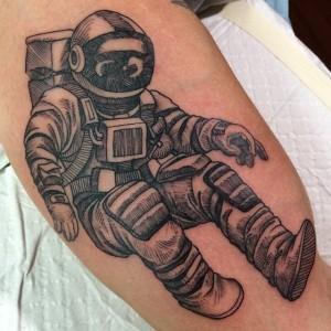 Astronaut Tattoos