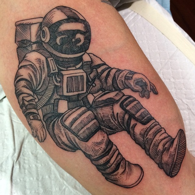 Tattoo Designs Tattoo Pictures: Astronaut Tattoos Designs, Ideas And Meaning