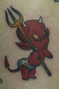Baby Devil Tattoo