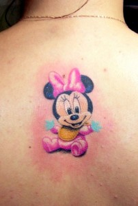 Baby Minnie Mouse Tattoos