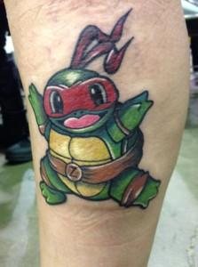 Baby Ninja Turtle Tattoo