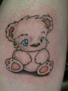 Baby Teddy Bear Tattoos