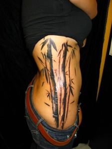Bamboo Style Tattoo