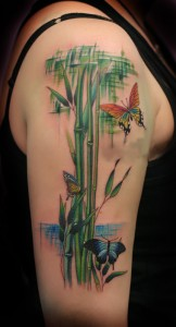 Bamboo Tattoo Sleeve