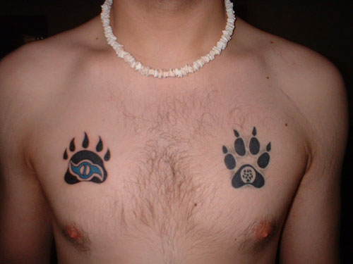 Bear Paw Tattoos Designs, Ideas and Meaning | Tattoos For You Hand Bones Tattoo